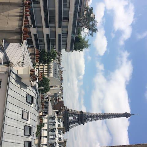 Joli studio Tour Eiffel - Pont de l'Alma