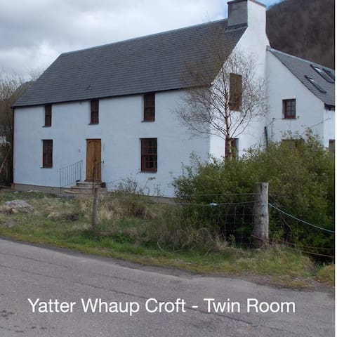 YatterWhaup Croft B&B - Twin Room - Glencoe - Bed & Breakfast