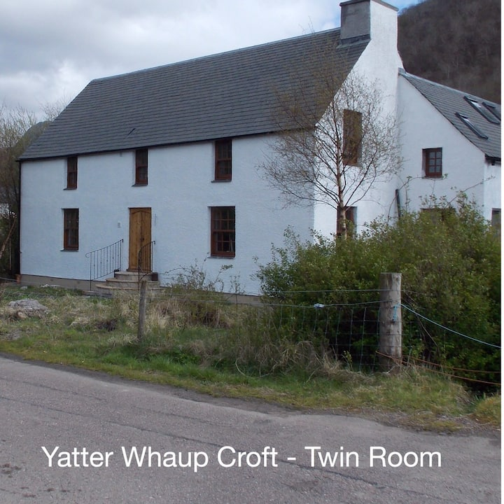 YatterWhaup Croft B&B - Twin Room