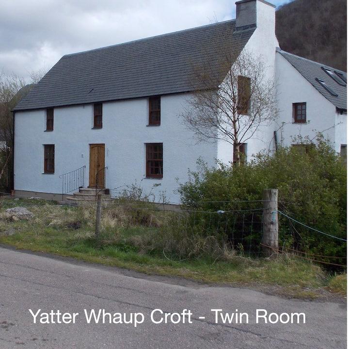 YatterWhaup Croft B&B - Twin Room