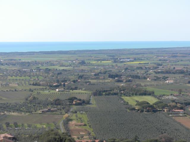 Bilocale panoramico C. Carducci