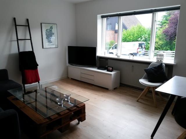 Renovated flat with free parking - Орхус - Квартира