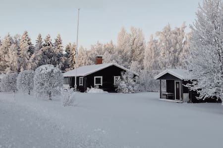 Stuga nära Bydalen vid Storsjön i Åre Kommun