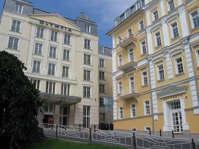 Apartmán v centru  Mariánské Lázně - Mariánské Lázně - Daire