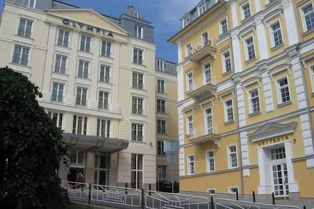 Apartmán v centru  Mariánských Lázní