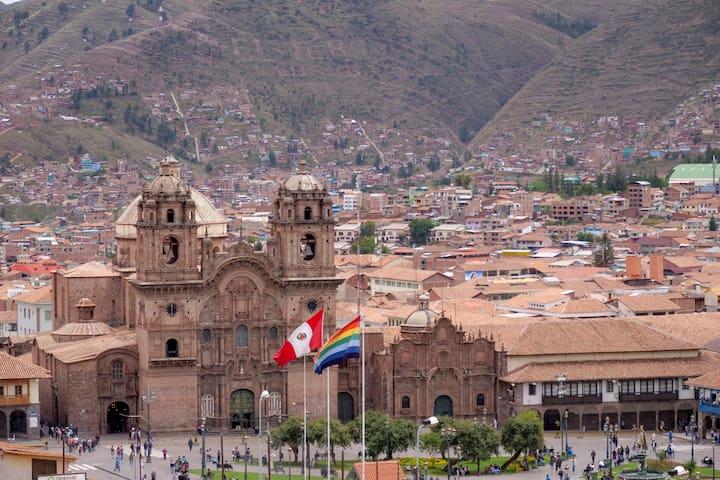 Vista Panorámica Cusco.