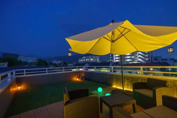 【OPEN SALE】屋上テラス付160㎡戸建、松本駅徒歩10分、駐車場2台、キッズルーム有り