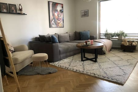 Apartment in central Stockholm close to water