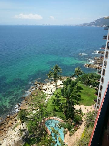 BEST VIEW ON THE SHORE OF PV. - Puerto Vallarta - Apartemen