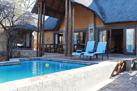 4 bedroom bush lodge in Hoedspruit wildlife estate - 荷兹普鲁伊(Hoedspruit)