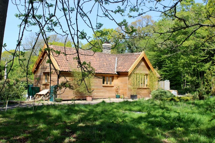 East Lodge, in the woods