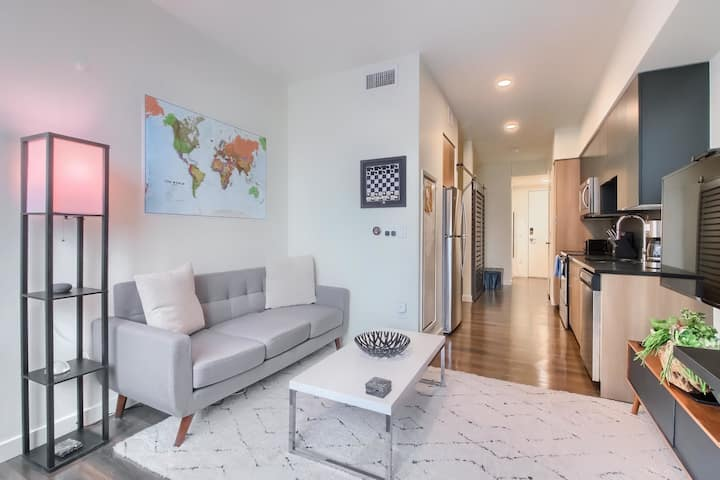 Inviting & Upscale 1BR Apt in the Heart of Denver