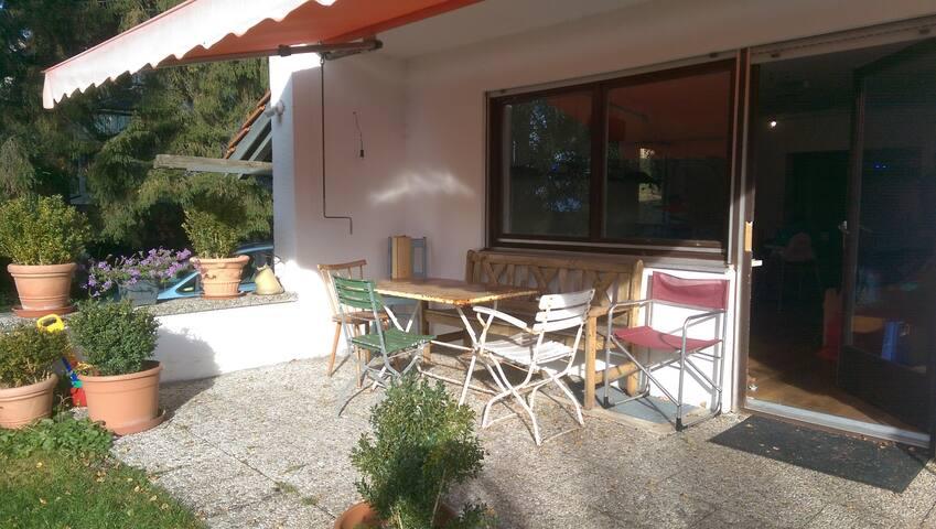 gemütliche Wohnung in Alpennähe - Schnaitsee - Apartment