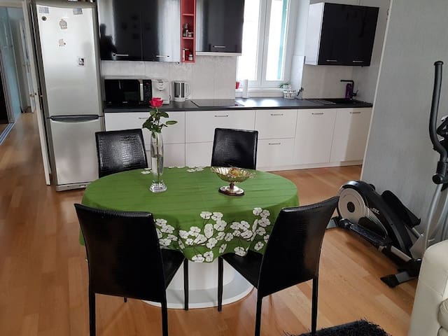 Stylish 3 bedroom + parking - Koper - Apartemen