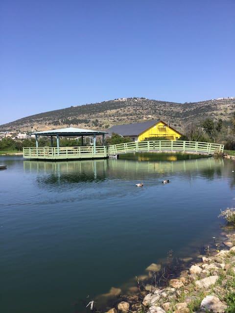 'Vered Caravan' Quiet Simple Place, Lower Galilee