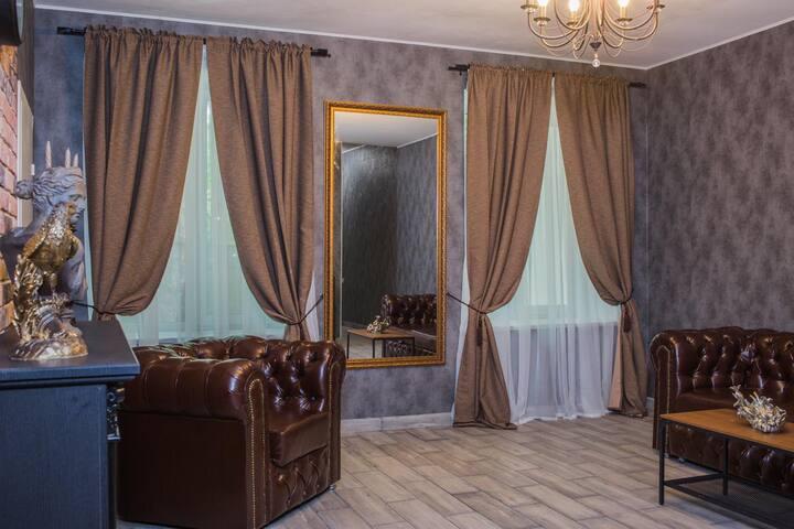 """Усадьба Планерная """"Лесной Берег"""" с Верандой и СПА"""