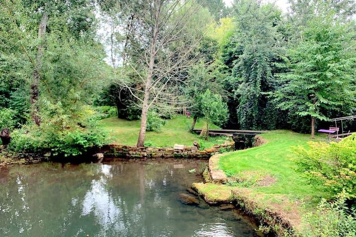 Moulin de la Corbelière, détente, nature et charme