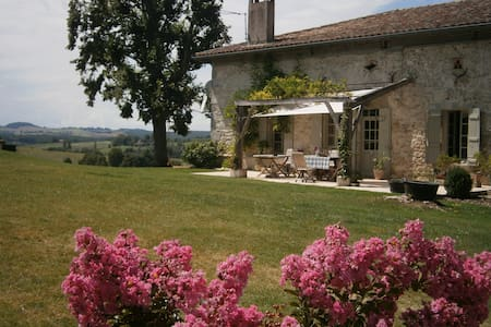 Stunning, high-quality farmhouse in Lot & Garonne - Beaugas - 獨棟