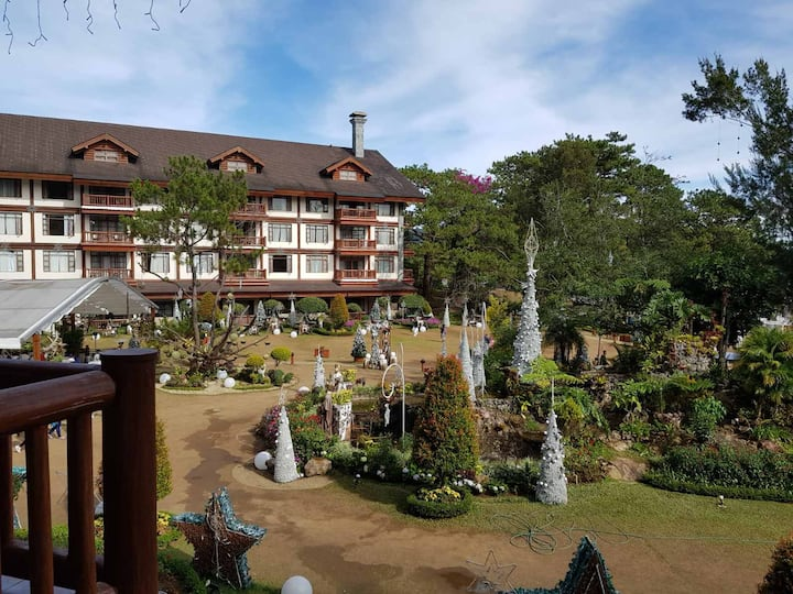 Warm and cozy private room at the manor baguio