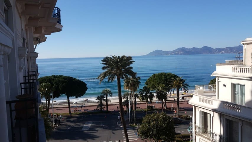 STUDIO CROISETTE VUE MER - Cannes - Byt