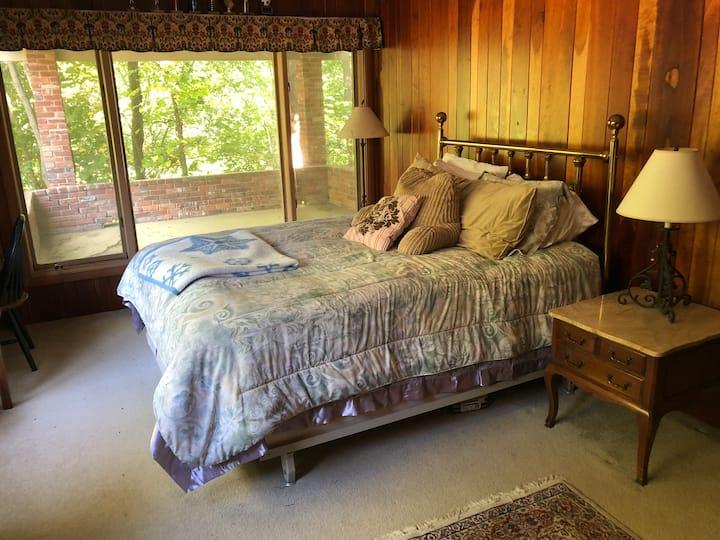 Bedroom Cherry Paneled Suite (Bedroom #1 of 3)