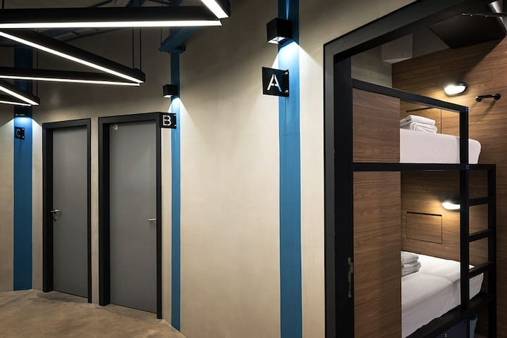 Female Dormitory with Shared Bathroom