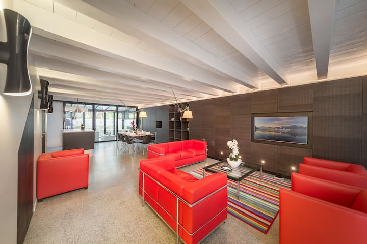 1BD Luxury & Modern Duplex in the heart of Lutry