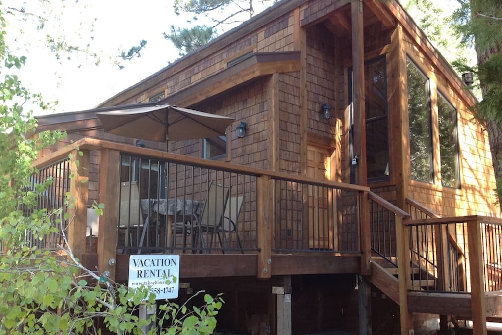 Tahoe House - front deck
