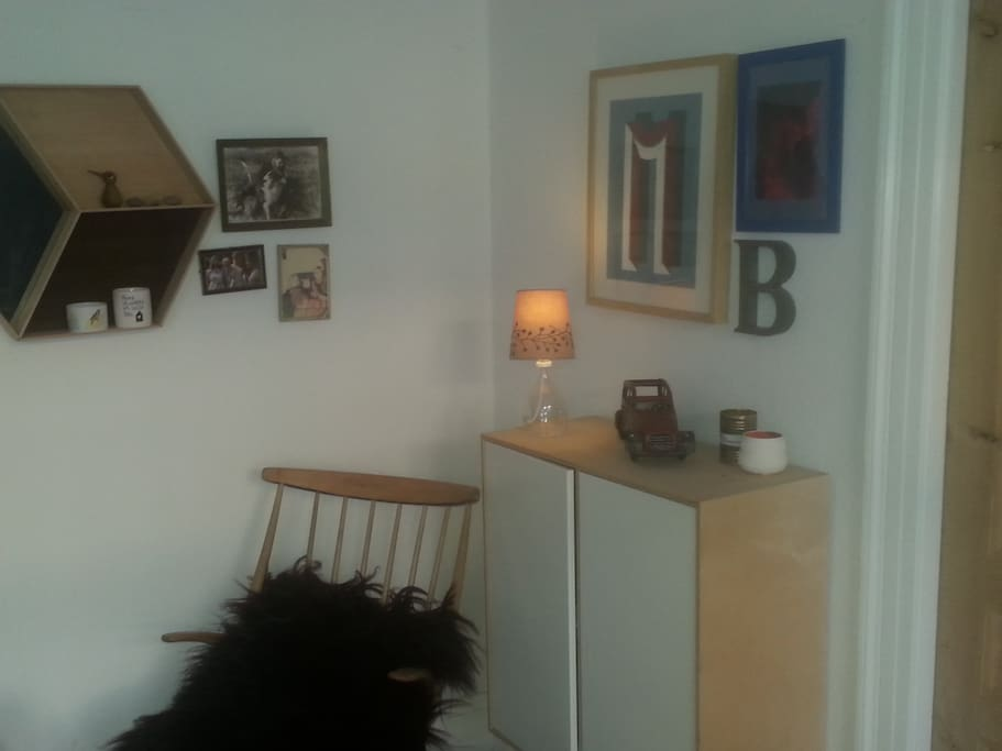Cosy corner in our living room