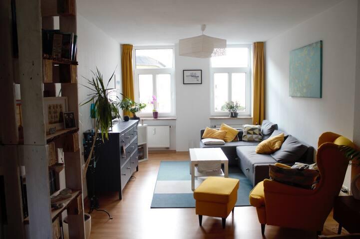 Helle 3-Raum Wohnung im Herzen Rostocks