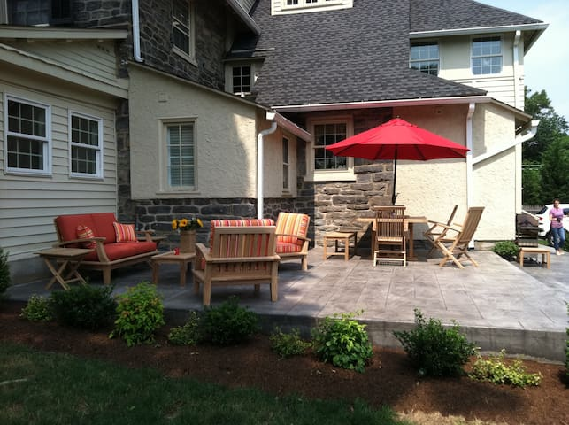 Dine outside or just relax on the patio.