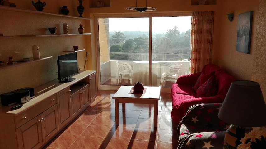 Flat with sea and golf course view - Almerimar  ('El Ejido)  - Apartment