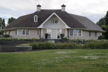Unieke Luxe Villa, incl. visvijver - Bruchem - Huvila