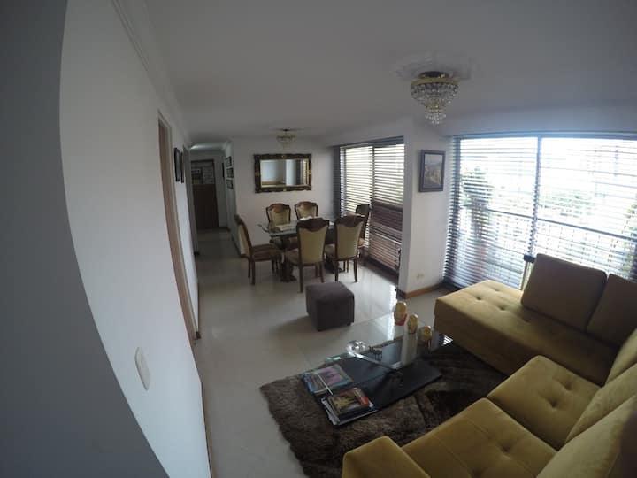 Apartamento entero bien ubicado, cómodo, seguro