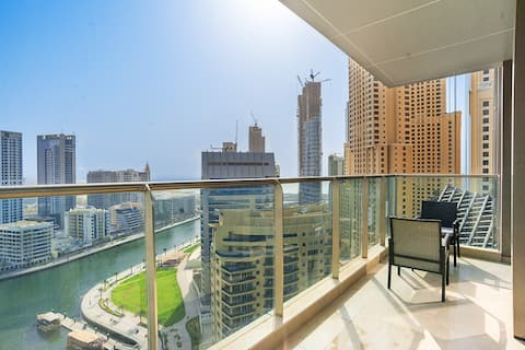 Sea View 1 Bedroom | Large Balcony | Sparkle Tower