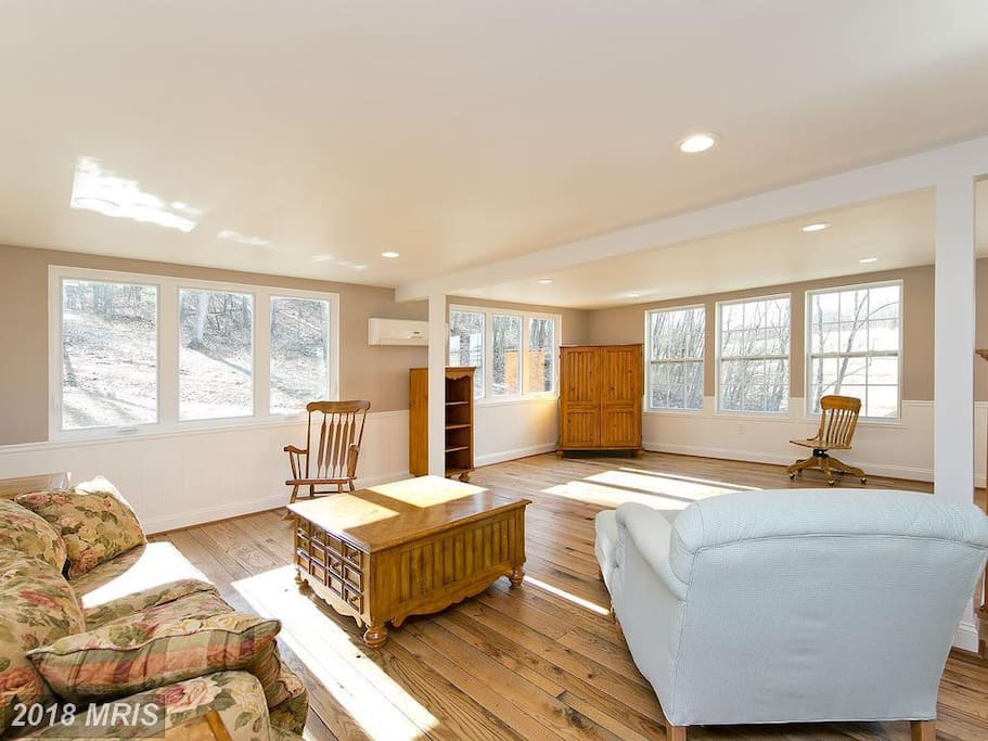 Open Floor Plan with Tons of Natural Light