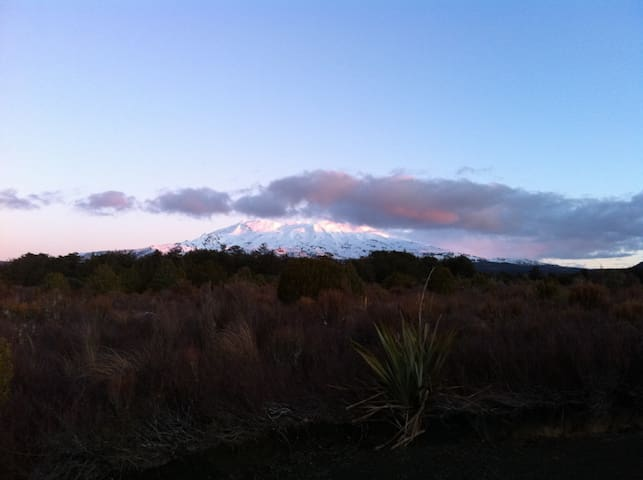 National Park - Ruapehu region - National Park - Hus