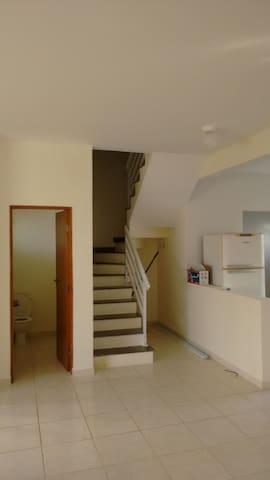 escada para o segunda andar