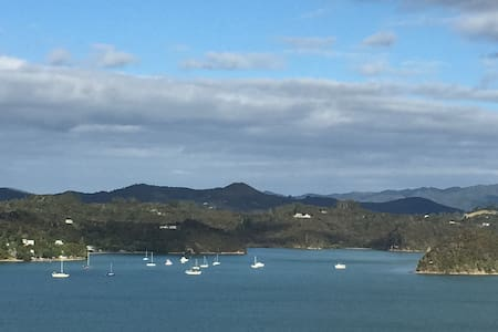 Allan's Place, quiet with spectacular views - Paihia - Maison