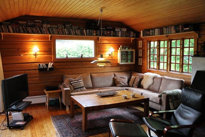 Cozy wooden cabin in Hornbæk