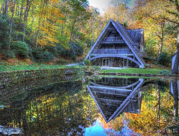 Chalet Ruisseau - Boone - Casa