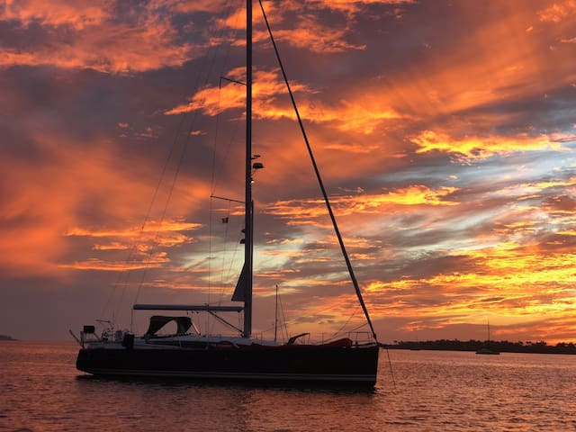 Sailing Yacht Edwina