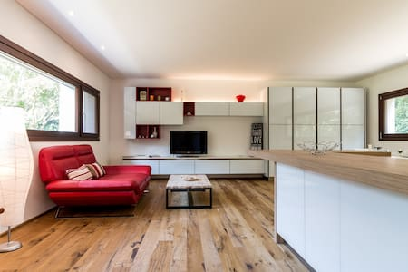 Modern villa & park + free bikes top for families - Treviso - Rumah