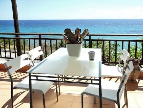 Seaside apartment in Kallikratia-sterilized by UVC