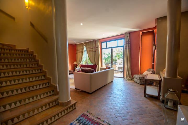 Villa Carissa au Golf de Samanah Marrakech