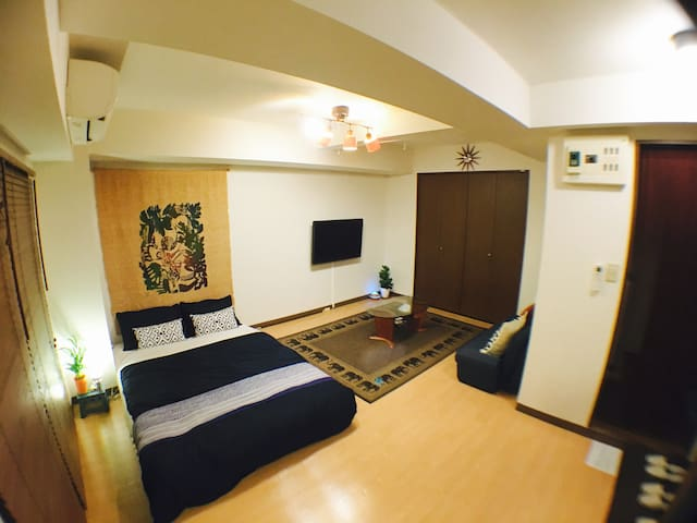 6min walking from SHIBUYAstation! FREE Pocket WiFi