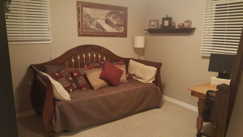 2nd Bedroom with daybed which converts to a Queen if needed