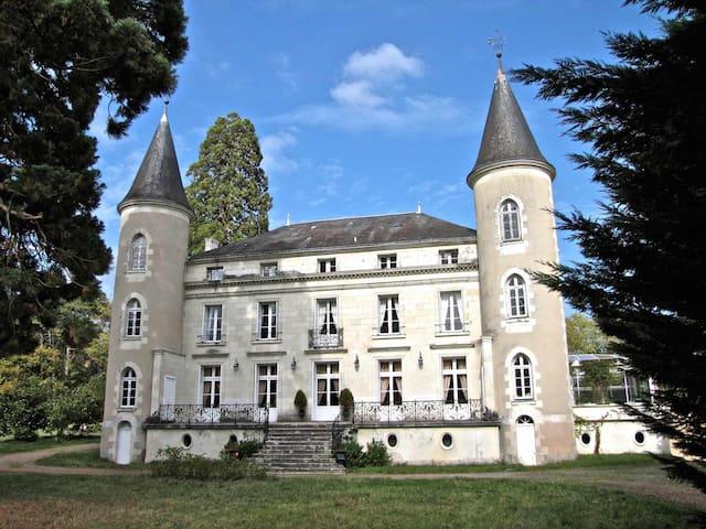 Chambre LOCHES(4)/CHATEAU en TOURAINE - Tournon-Saint-Pierre - Schloss