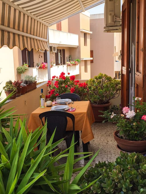 Relax Moments at your Private Terrace