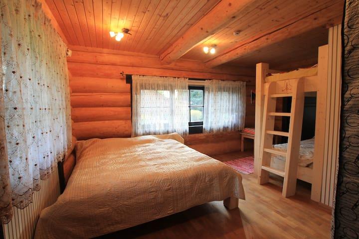 Bedroom on the ground floor.